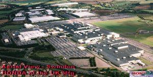 Honda Swindon Manufacturing Plant