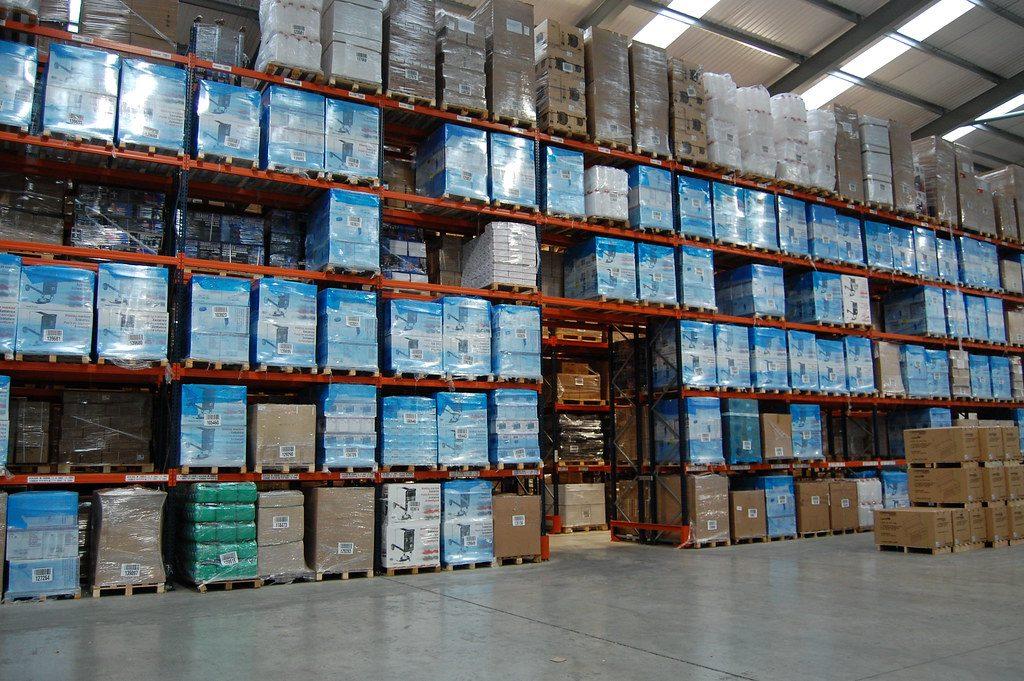 Brexit stockpiling (warehouse)